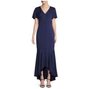 NEW SHOSHANNA| Navy Blue Midnight Party Gown 8 M